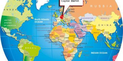 Berliinin Kartta Kartat Berliini Saksa